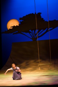 Carmen Grant, The Syringa Tree, MTC. Set and Costumes Debra Hanson, Directed by Marcia Kash