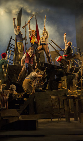 Rainbow Stage production of Les Misérables.